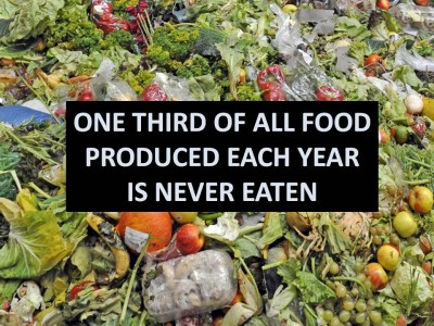 Two innovative ways to deal with food waste