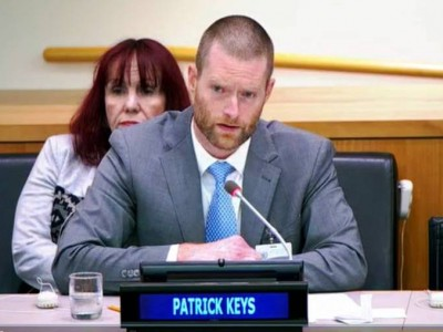 UN Keynote on Sustainability and the Anthropocene (by Patrick Keys)