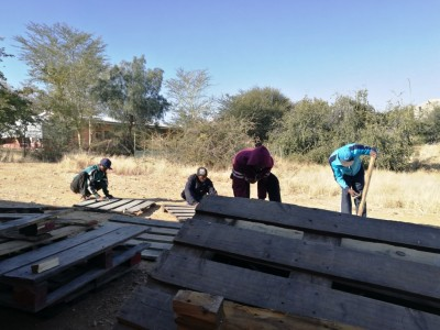 Small steps to improving life at Sonder Water through pallet furniture