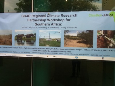 Southern Africa Regional Workshop on Climate Research Partnership Concludes