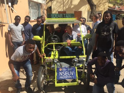 Our NUST has built the first Namibian Solar Taxi